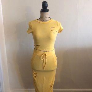 (Yellow) Two piece set from Fashion Nova